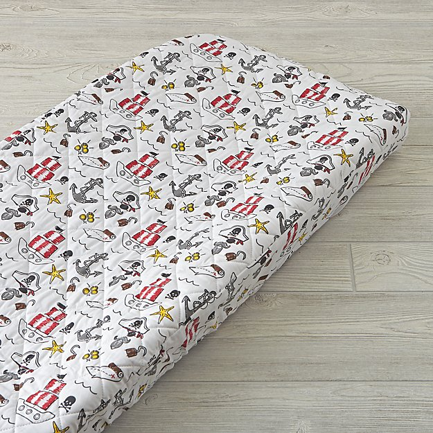 Pirate Changing Pad Cover