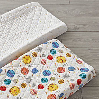 Set of 2 Deep Space Changing Pad Covers