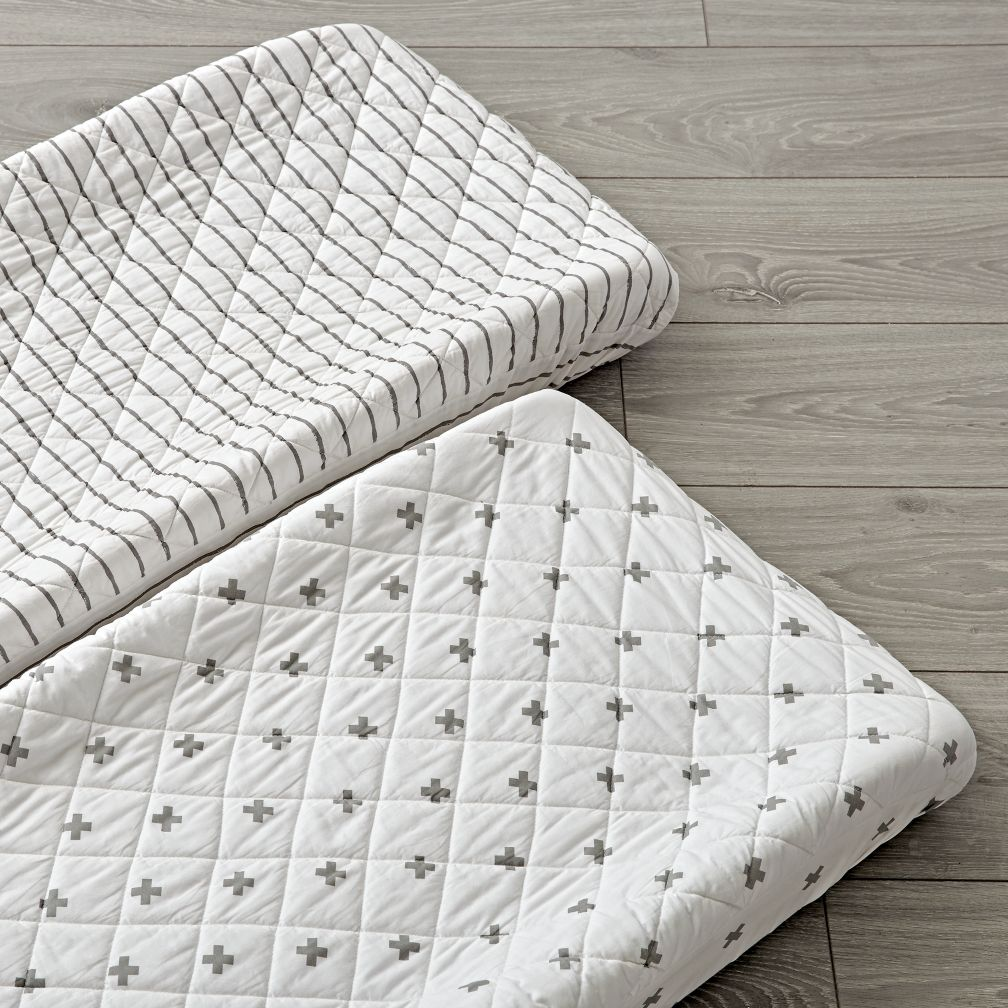 Set of 2 Iconic X Changing Pad Covers