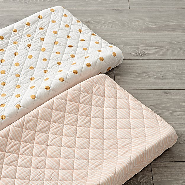 Set of 2 Marine Queen Changing Pad Covers