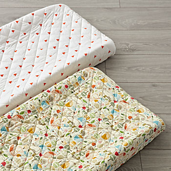 Set of 2 Nature Trail Changing Pad Covers