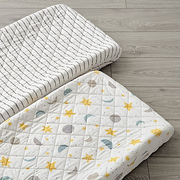 Set of 2 Nightfall Changing Pad Covers