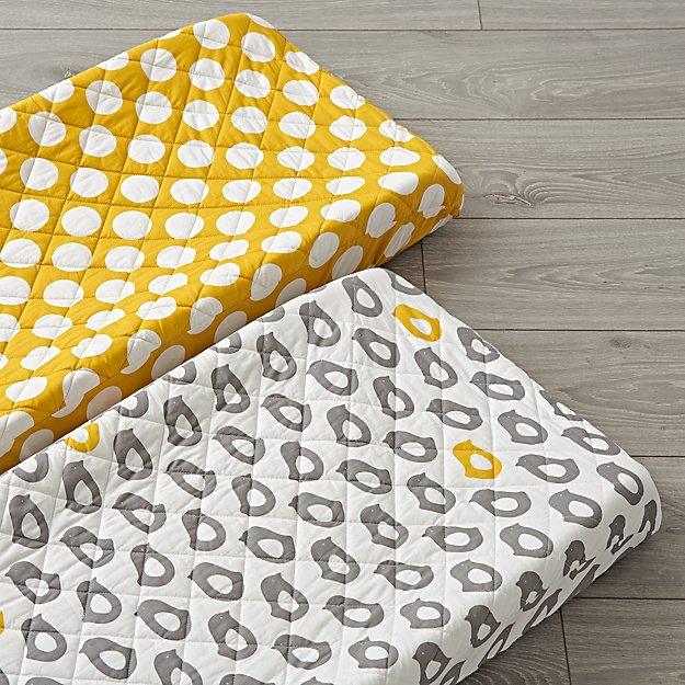 Set of 2 Not a Peep Changing Pad Covers