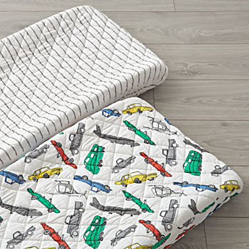 Set of 2 Traffic Jam Changing Pad Covers