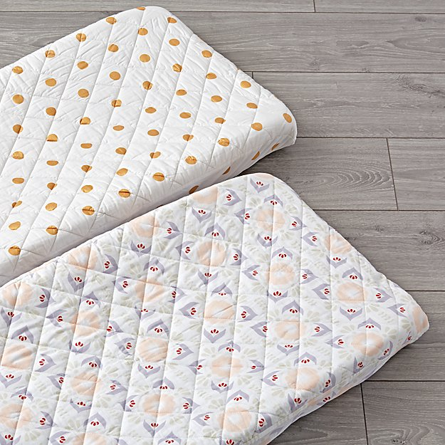 Set of 2 Baja Garden Changing Pad Covers