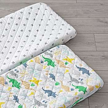 Set of 2 Dinosaur Changing Pad Covers
