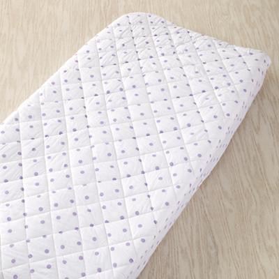 Dream Girl Changing Pad Cover (Lavender Dot)