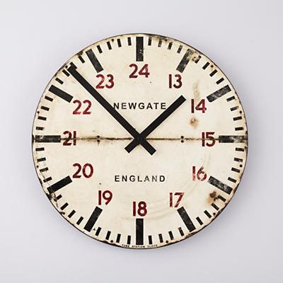 Tube Station Wall Clock