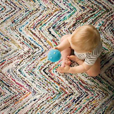 Color Static Rug
