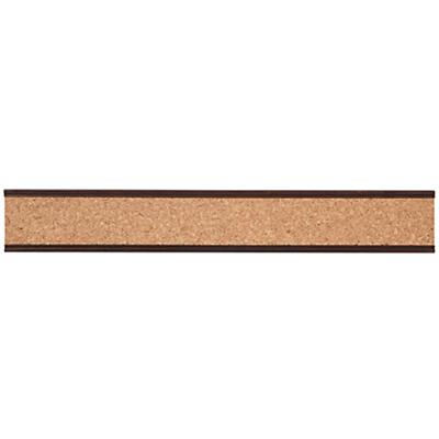Straight & Narrow Cork Rail (Espresso)