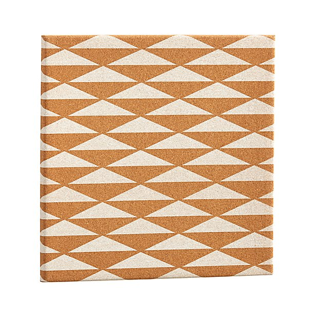 Patterned Corkboard (Triangle)