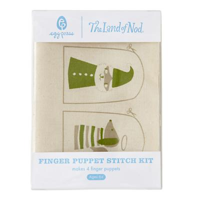 Finger Puppet Stitch Kit (Holiday)