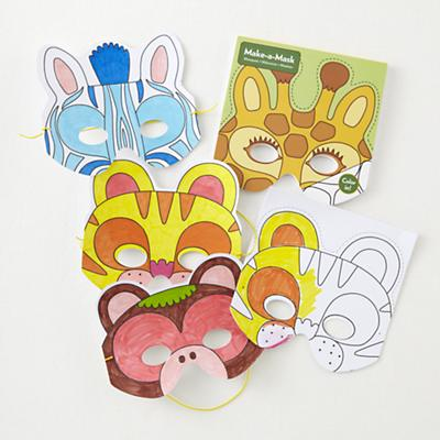 Make a Mask (Jungle Animals)