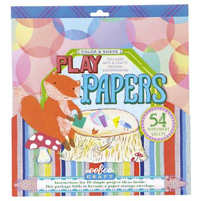 Color and Shape Play Craft Papers