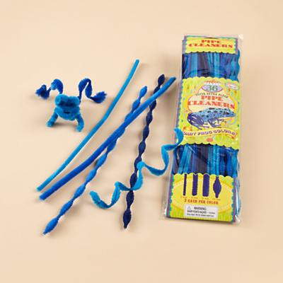 Blue Pipe Cleaners