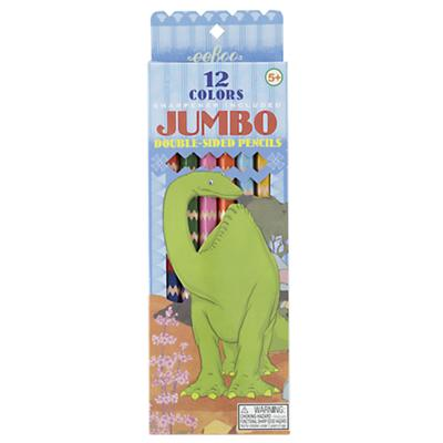 Dinosaur Jumbo Color Pencils