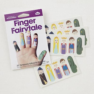 Fairytale Finger Tattoo Set