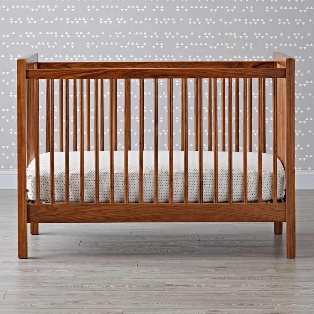 Unfinished crib for sale - Andersen Crib Walnut