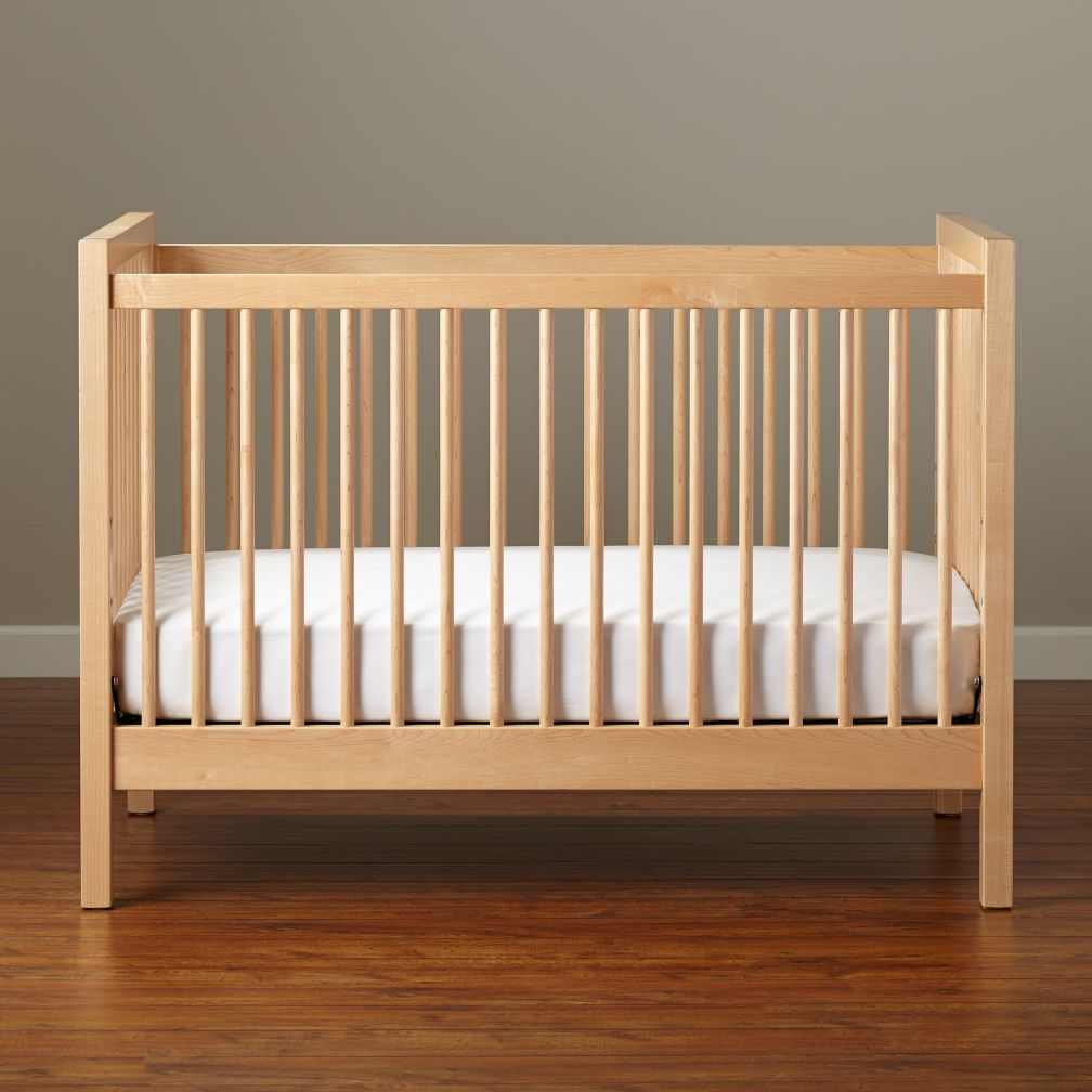 Unfinished crib for sale - Andersen Crib Maple