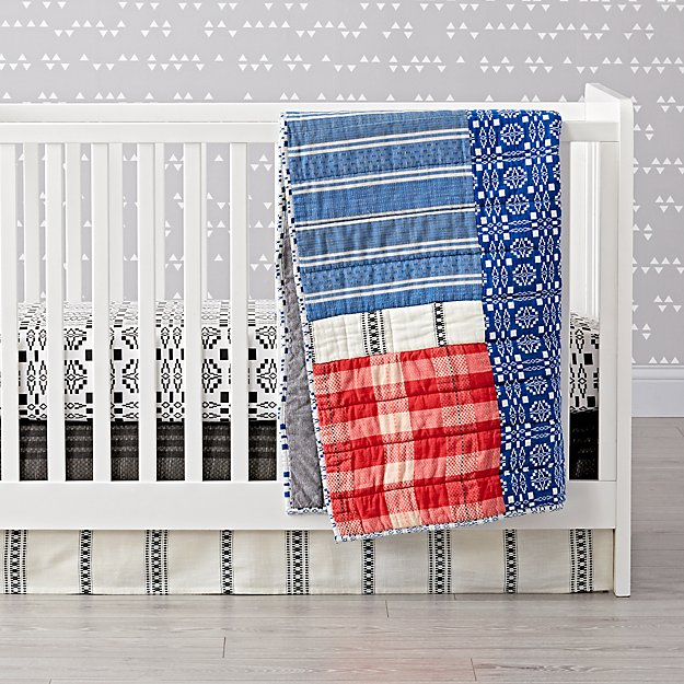 Land of Nod Ace & Jig Quilt