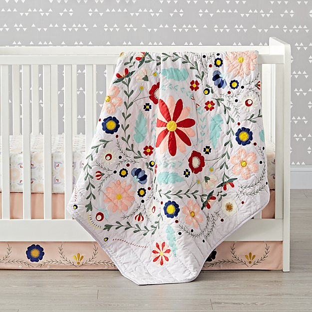 Baja Garden Crib Bedding