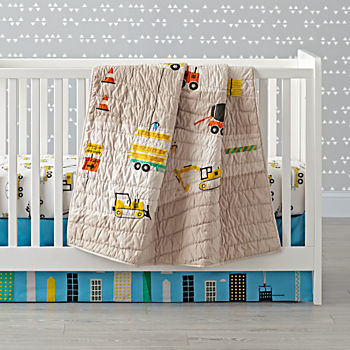 Builder's Crib Bedding (3-Piece Set)
