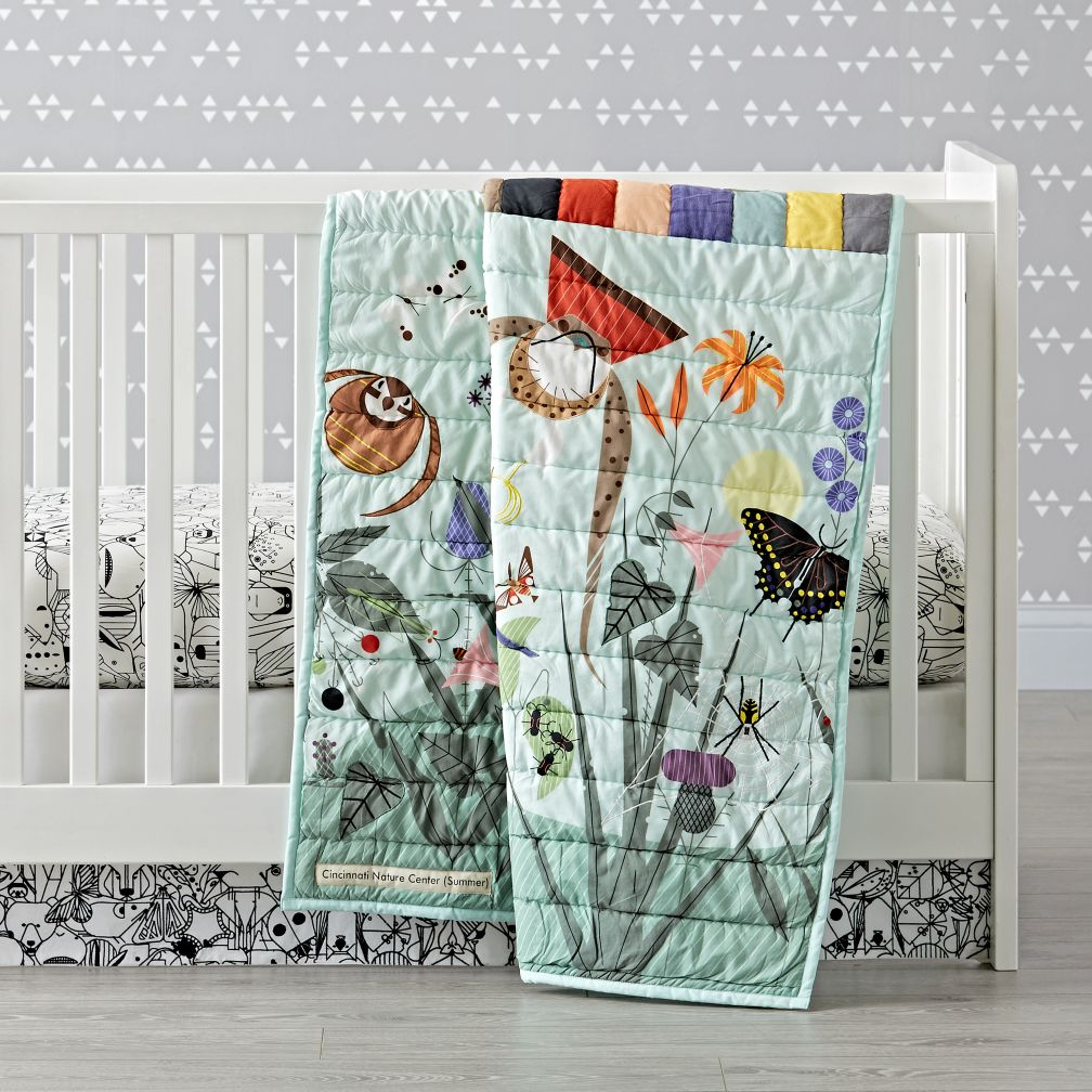 Charley Harper Nature Center Crib Bedding