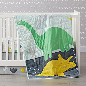 Dinosaur Crib Bedding (3-Piece Set)