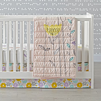 Floral Suite Crib Bedding (3-Piece Set)