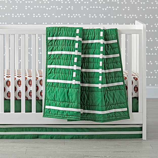 Nod Football Crib Bedding