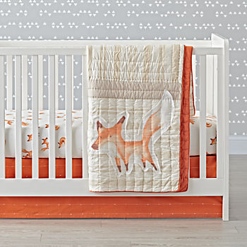 Fox Crib Bedding (3-Piece Set)