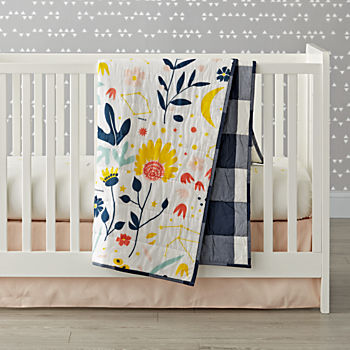 Genevieve Gorder Floral Crib Bedding (3-Piece Set)