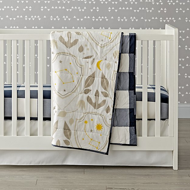 Genevieve Gorder Shield Crib Bedding
