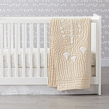 Natural Leaf Crib Bedding (3-Piece Set)