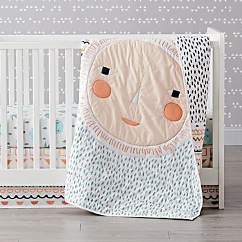 Night and Day Crib Bedding (3-Piece Set)