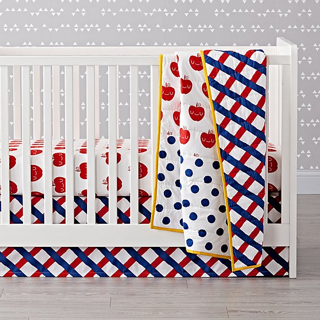 Apple Orchard Crib Bedding