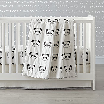 Panda Crib Bedding (3-Piece Set)