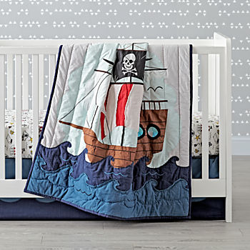 Pirate Crib Bedding (3-Piece Set)