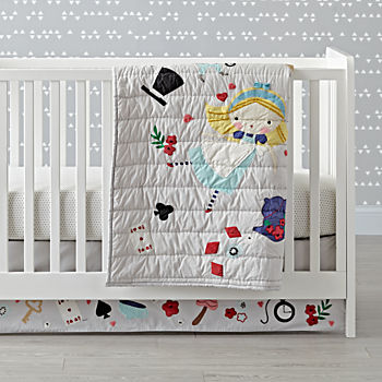 Wonderland Crib Bedding (3-Piece Set)