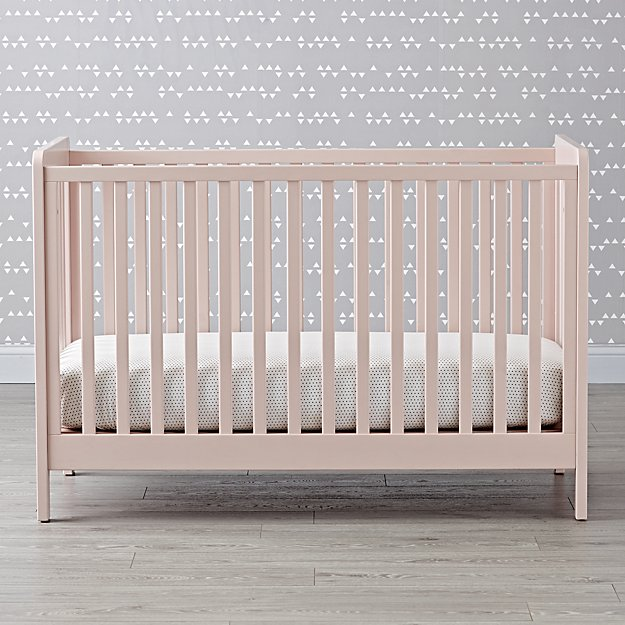 Blush Carousel Crib