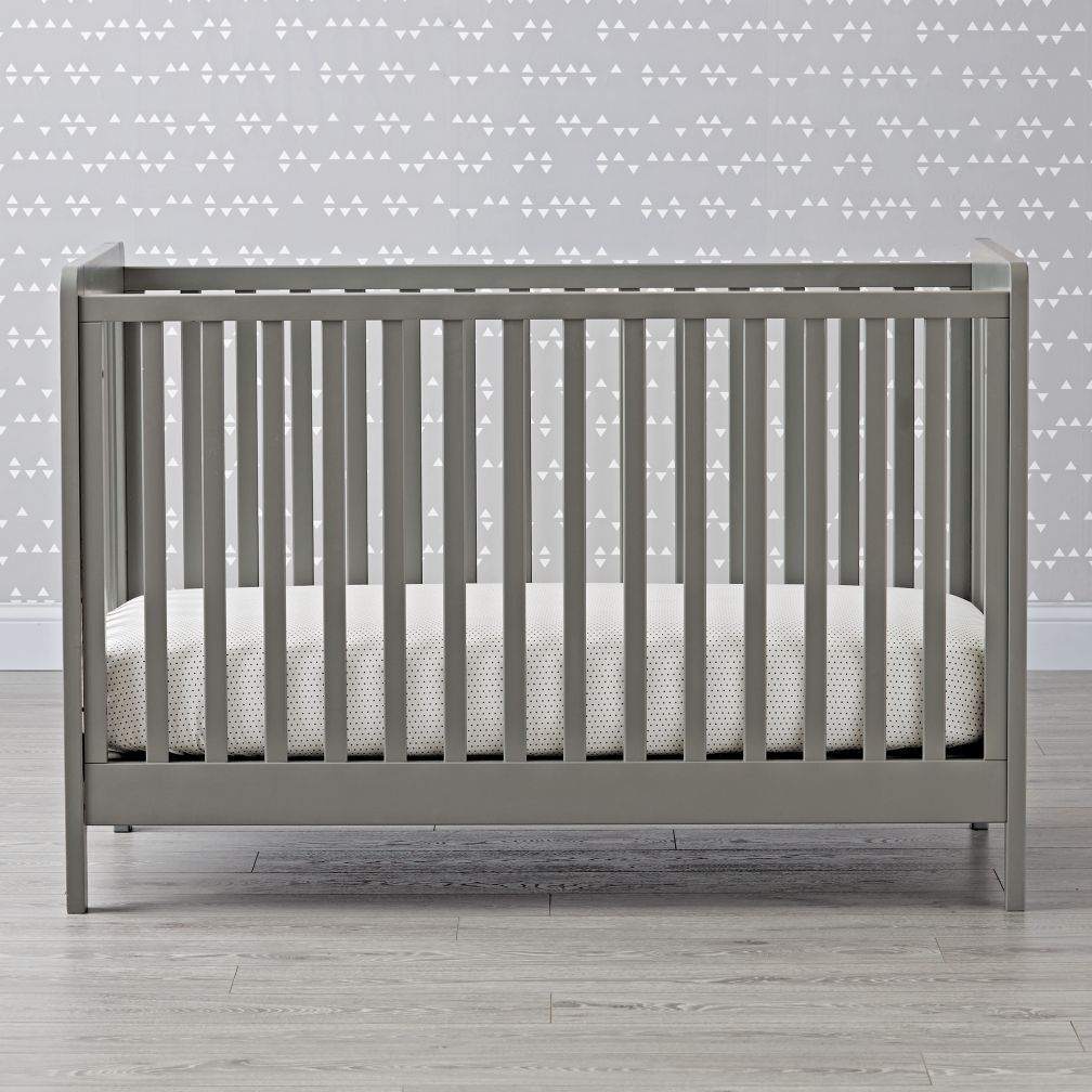 Baby cribs big w - Carousel Crib Grey