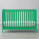 Kelly Green Carousel Crib