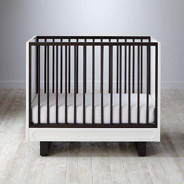 Elevate Mini Crib & Mattress ...