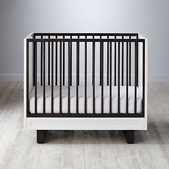 Elegant Elevate Mini Crib U0026 Mattress Set