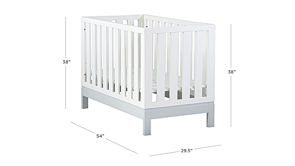 Flex 4 In 1 Convertible Crib Collection The Land Of Nod