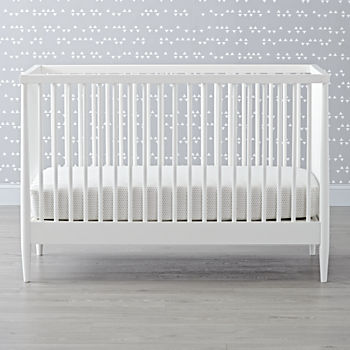 hampshire white crib - White Baby Crib