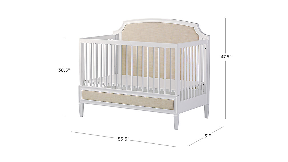 Harmony 3 In 1 Convertible Crib The Land Of Nod