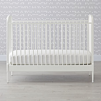 Larkin White Crib