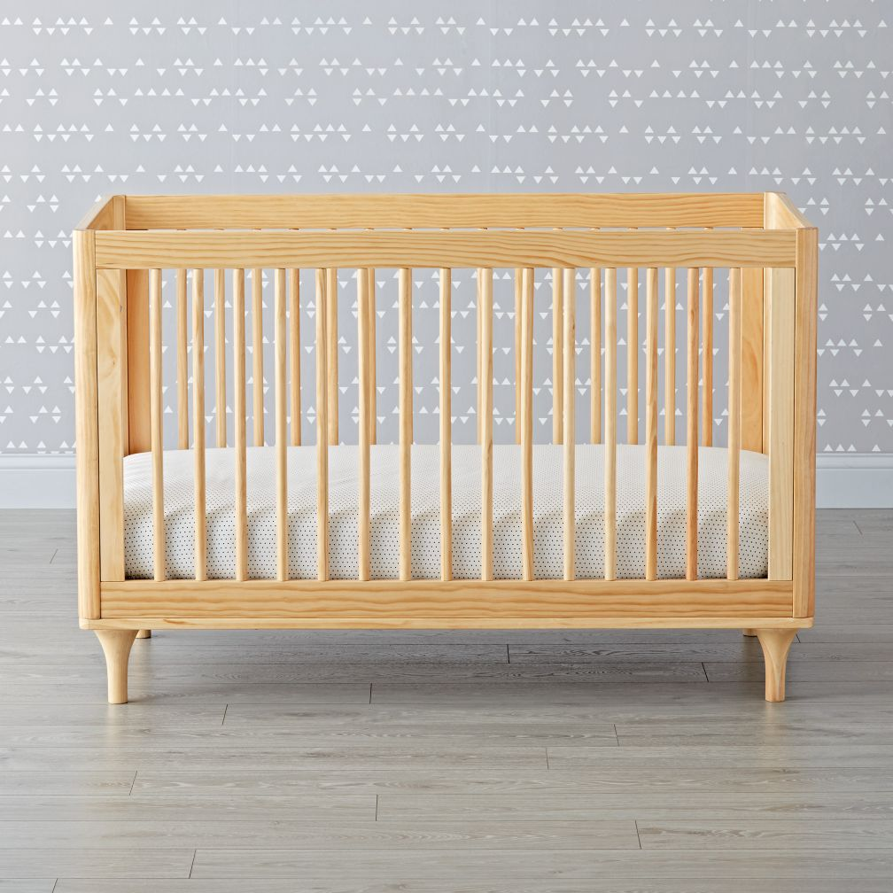 babyletto lolly natural 3 in 1 convertible crib