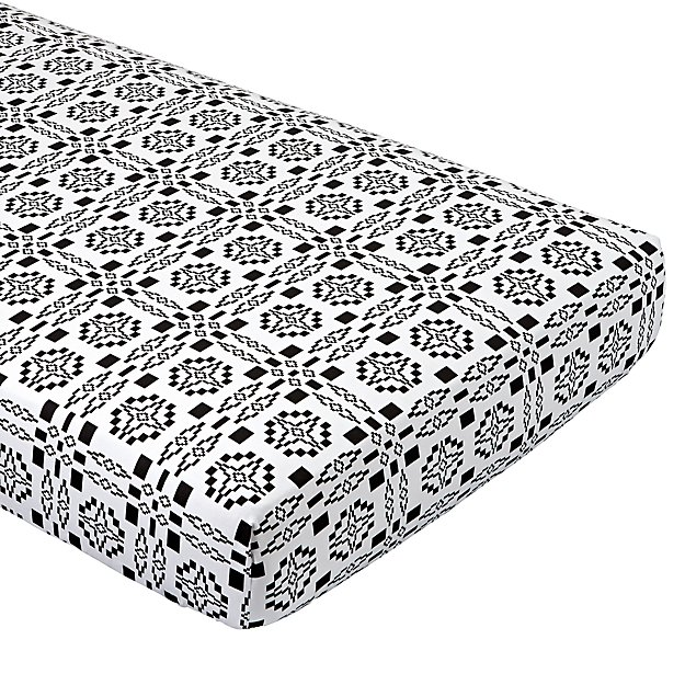 Organic Ace & Jig Crib Fitted Sheet